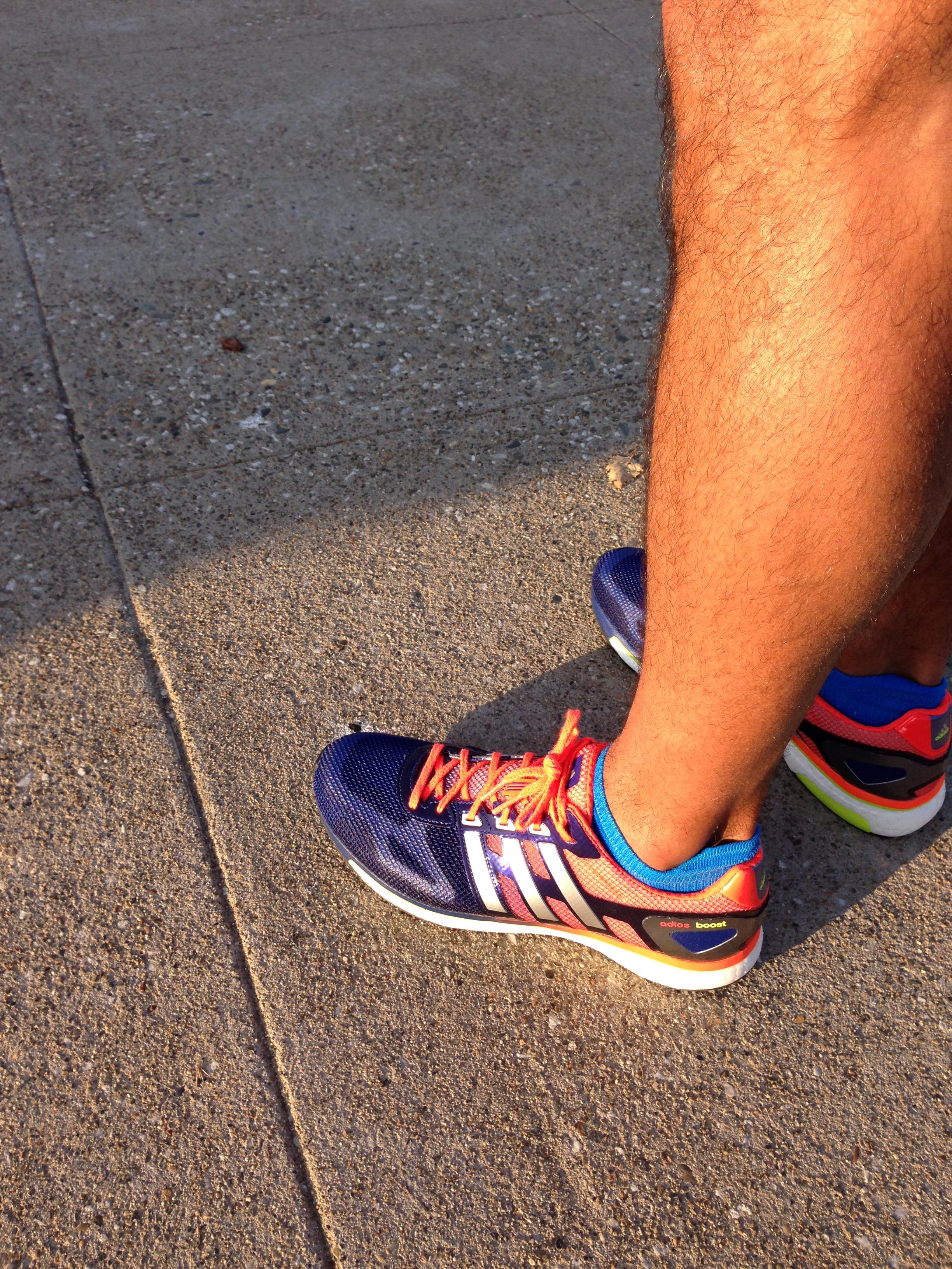 Adidas Boost Adios Test