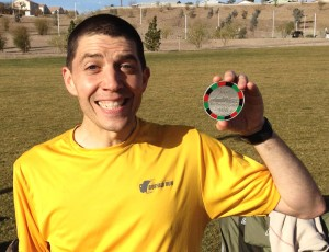 The Jackpot Ultra Running Festival made it's debut on February 15-16, 2014 just a few miles away from the Las Vegas Strip. Utah's Cory Reese rolled the dice at the 100 mile event and scored his first sub 24 hour finish.