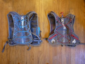The new 2.0 on the left and the original AK vest on the right.