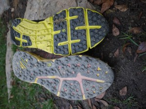 Similar outsole tread to Rogue Fly.