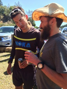 Post-Sonoma brew and beard talk.