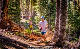 Western States 2014 - Stephanie Deveau