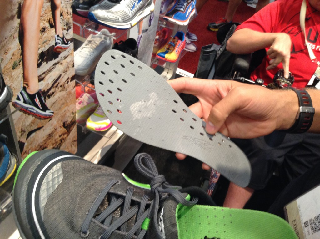 Removable rock plate in an Altra. Brillliant!