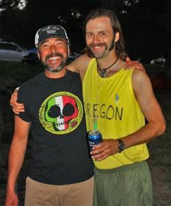 Luis Escobar and Chris (dressed as Pre.)