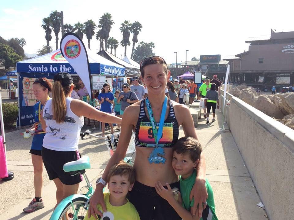 Ventura marathon family shot
