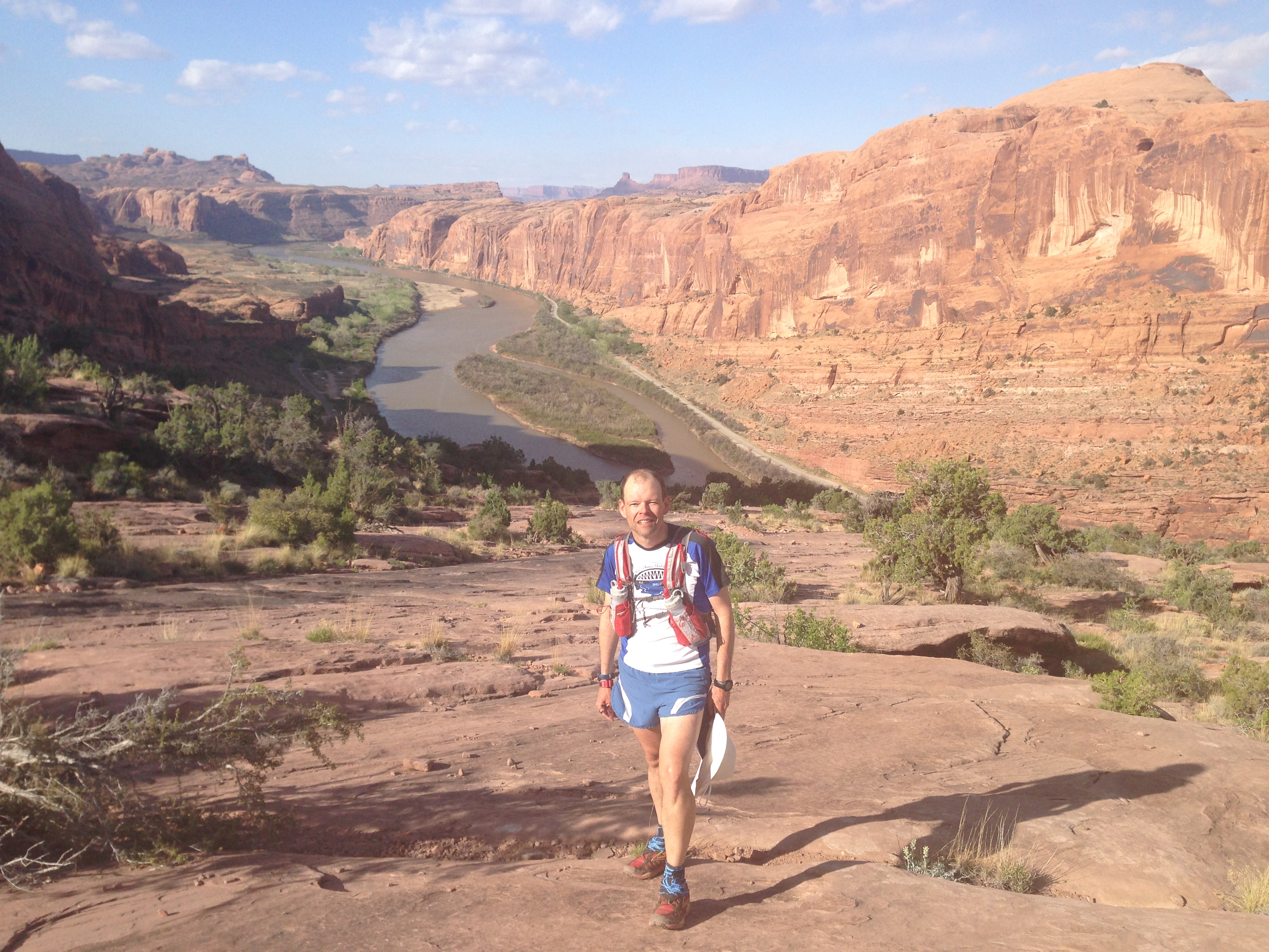 Peter on the Moab Trail