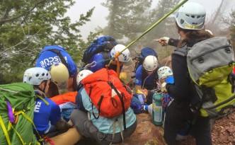 The rescue. Photo courtesy Bill Wright.