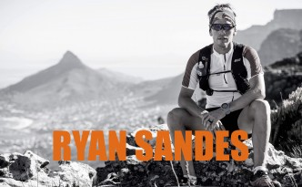 Ryan Sandes poses for a portrait during a FKT attempt that took place on Table Mountain, Cape Town, South Africa on January 21st, 2015.