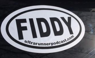 ultrarunner podcast sticker