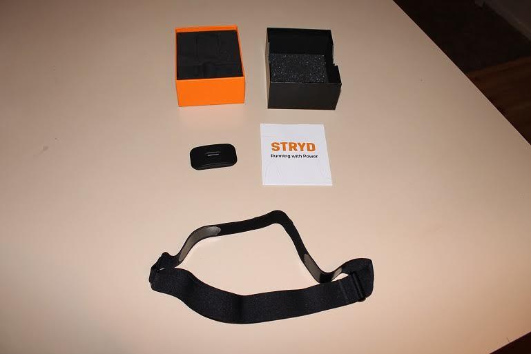 stryd powermeter open box