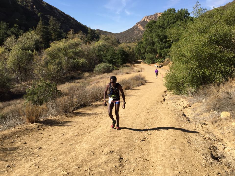 Coree Woltering Malibu Canyon 50k
