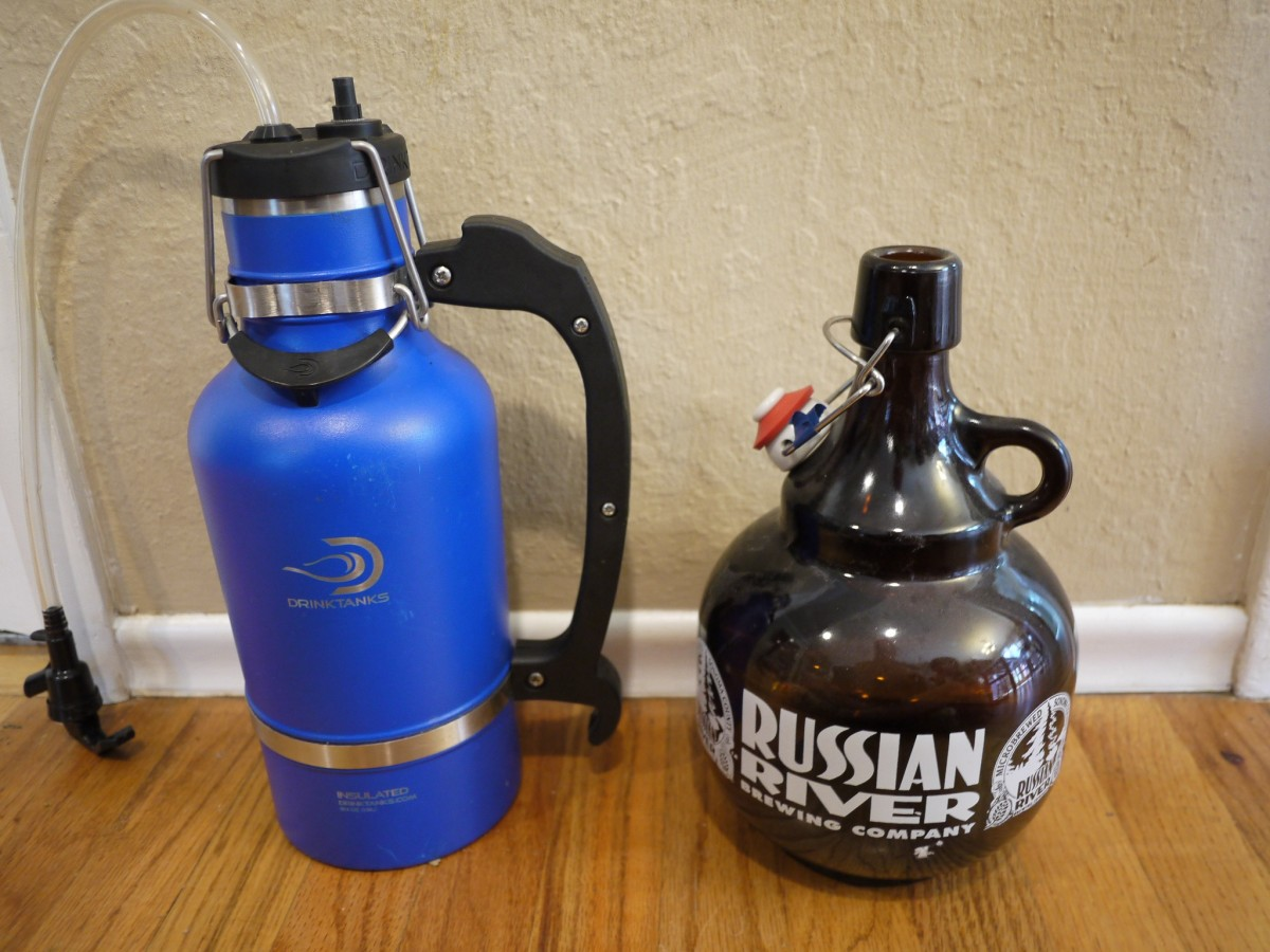 It takes a lot to upstate a Russian River growler.