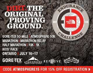 North Face Endurance Challenge, Ontario, July 16-17