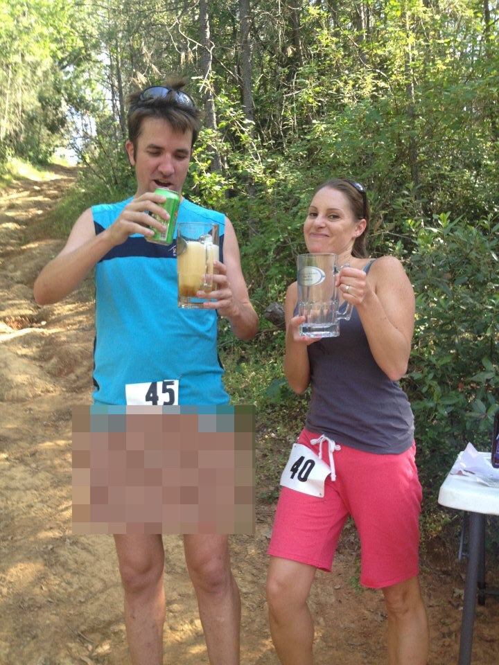 beer mile ultramarathon