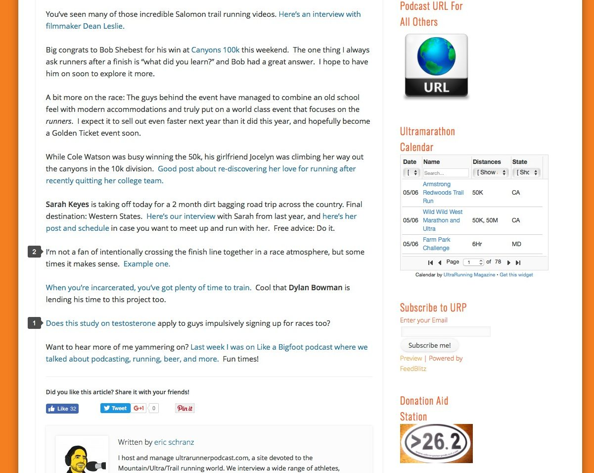 ultramarathon news