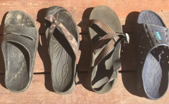 runner sandals
