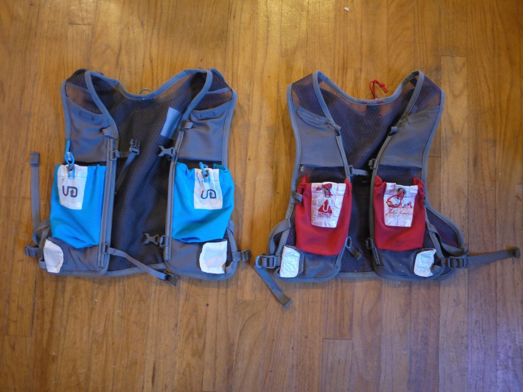 The original AK vest on the right, and the new AK 2.0 on the left.