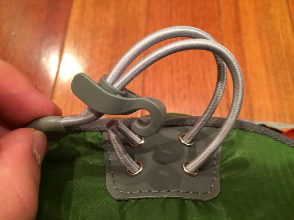 gear loop, top