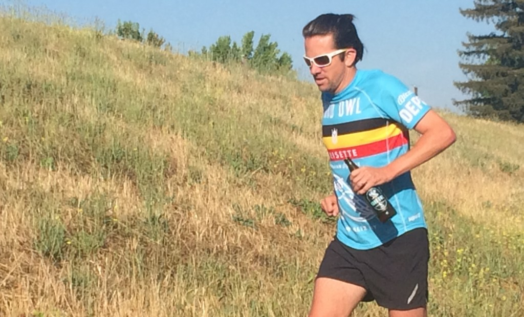 ultramarathon beer training