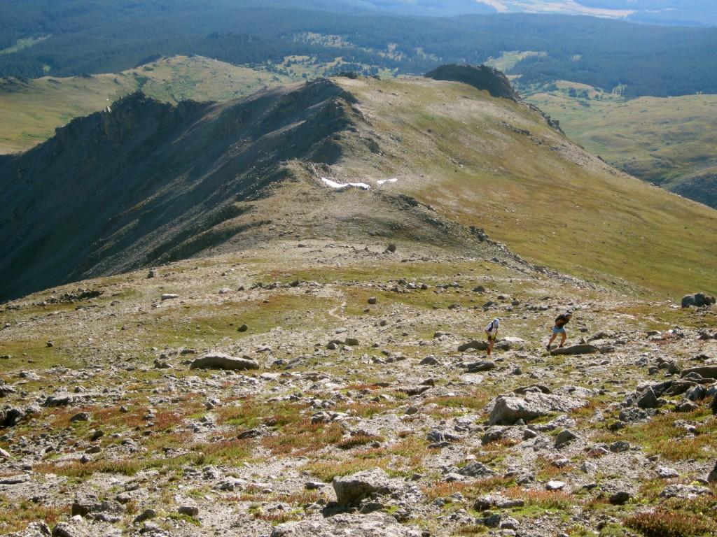 Climbing Mt. Massive