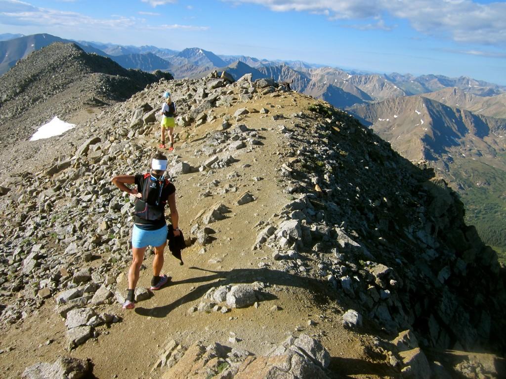 Ridgeline of Mt Massive