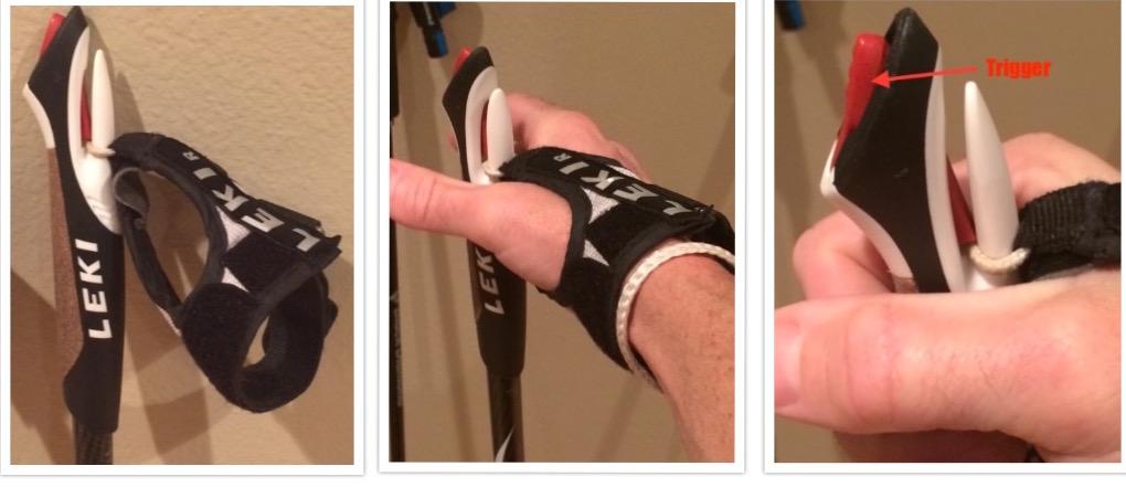 Leki Shark grip system