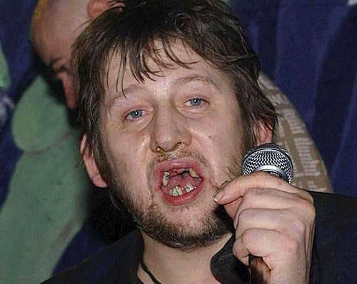 Shane McGowan in all his glory.