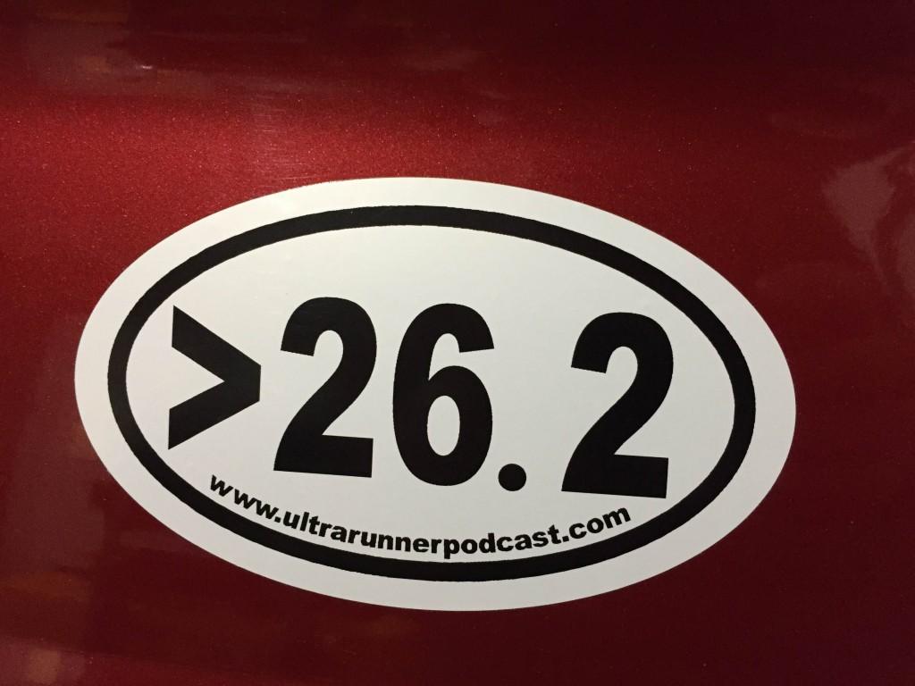 >26.2 sticker