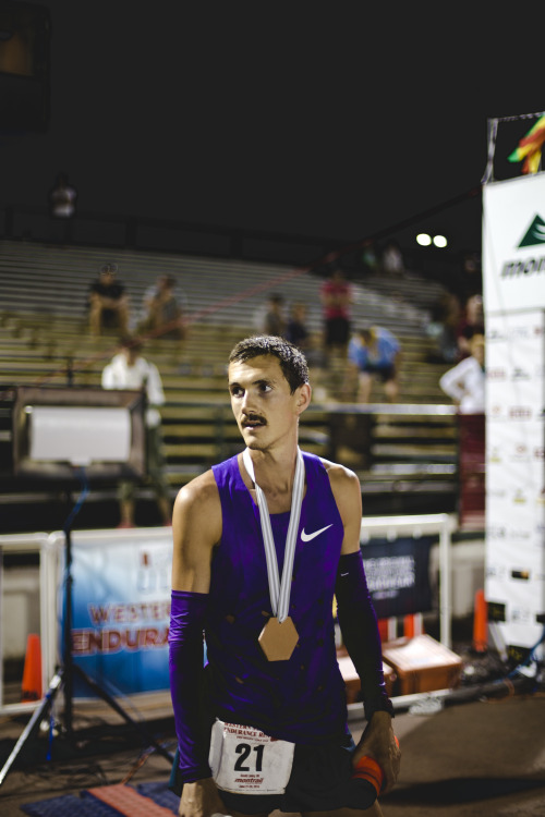 David Laney Western States finish