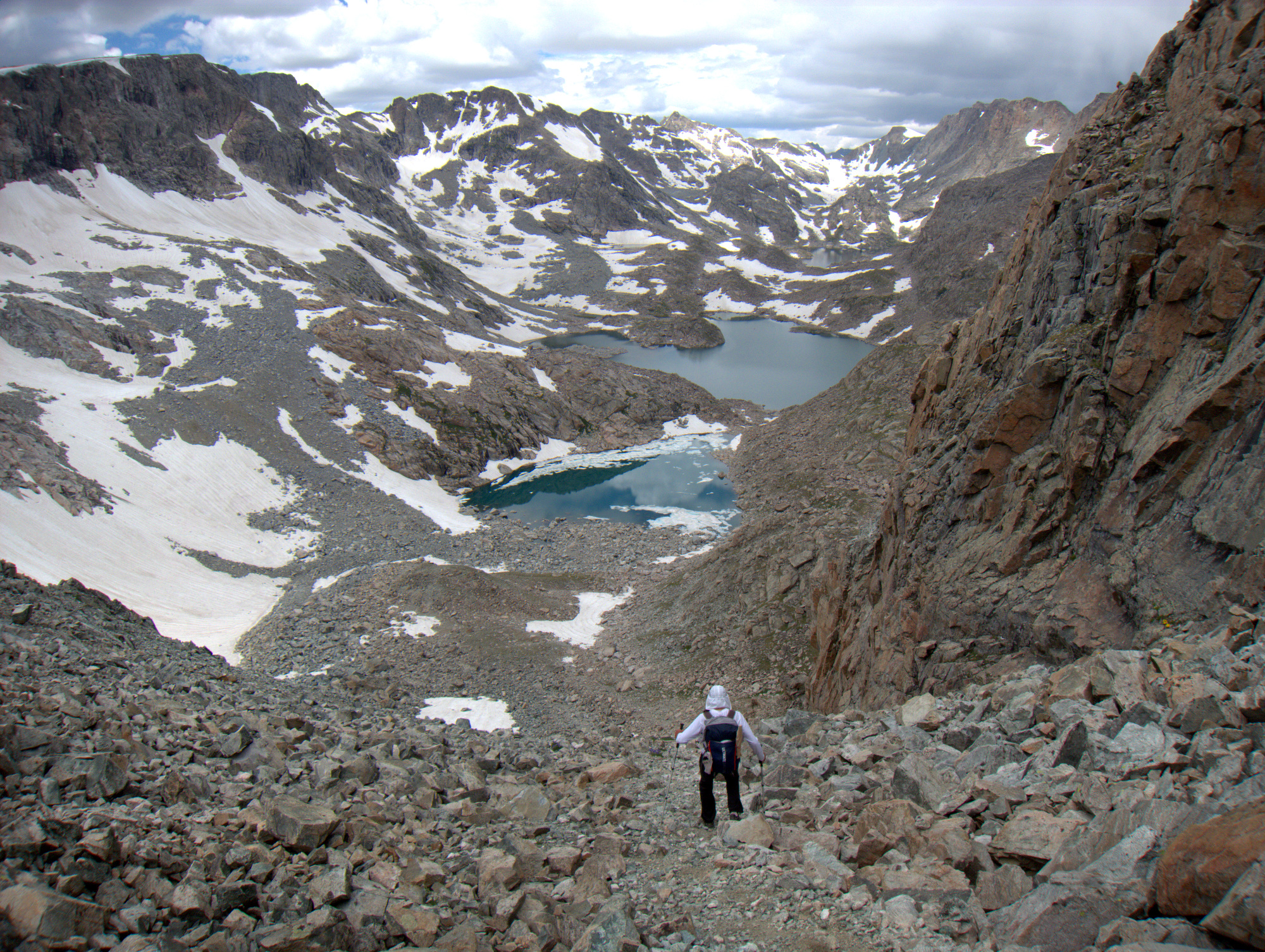 ultra trail running wind river high route