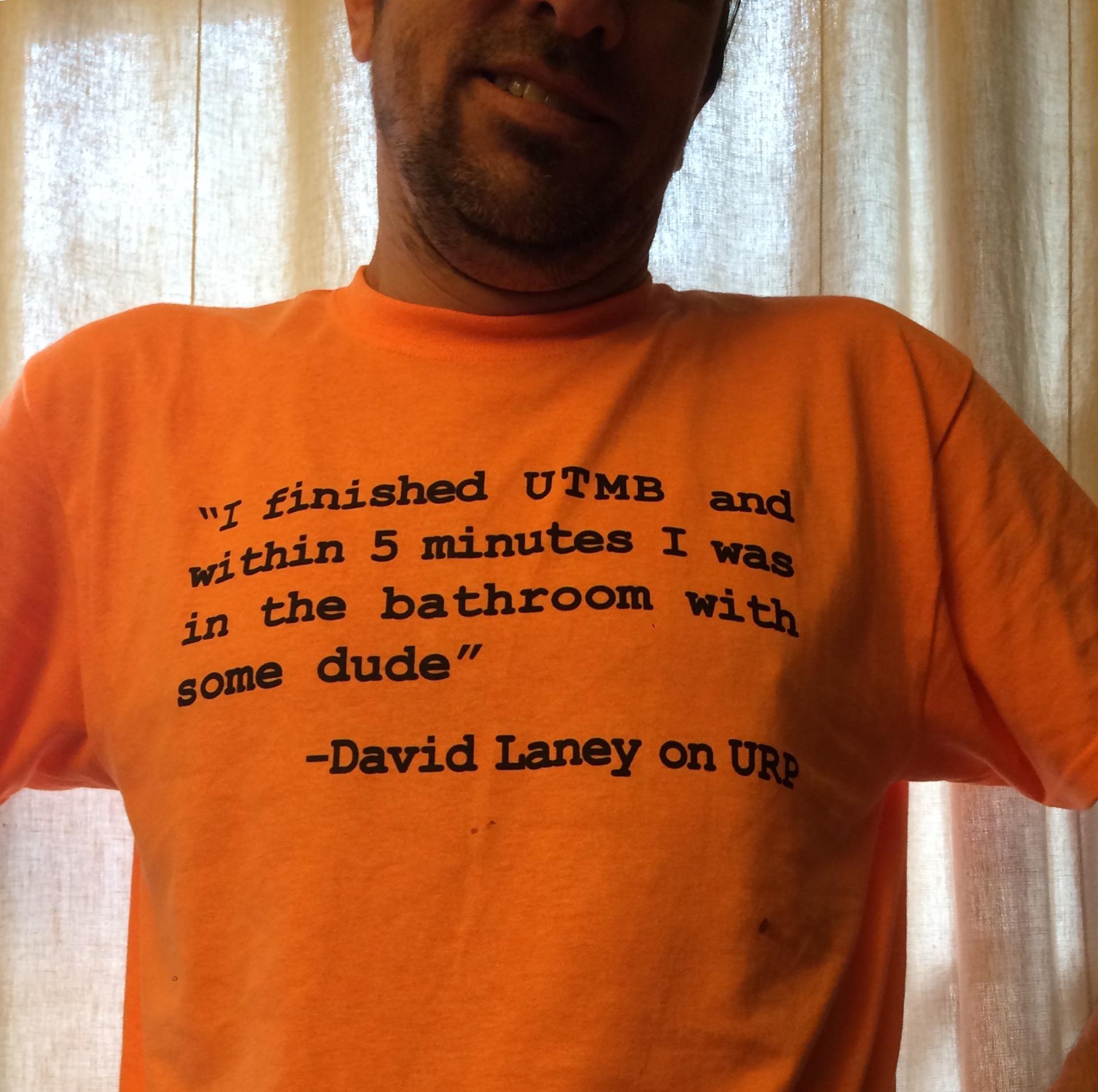 UTMB shirt
