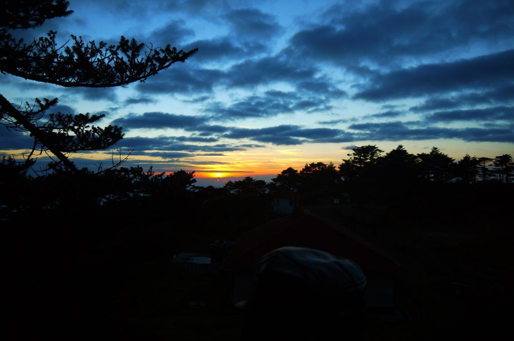 Himalayan 100 sunrise.