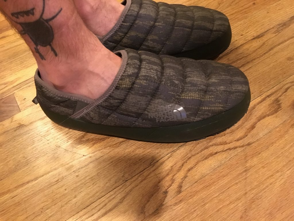 Puffy Slipper Fit & The North Face Puffy Slippers Review - UltrarunnerPodcast