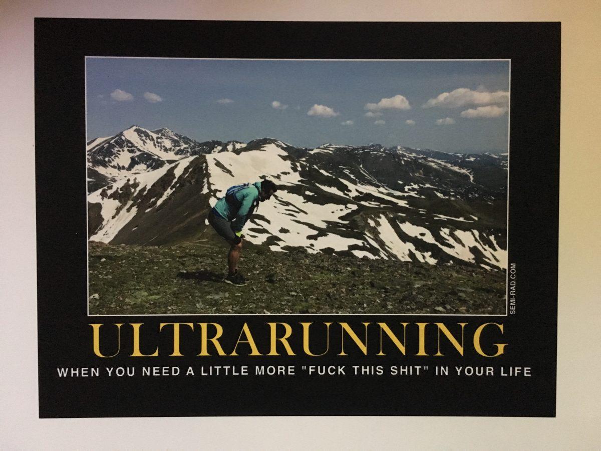 ultramarathon print