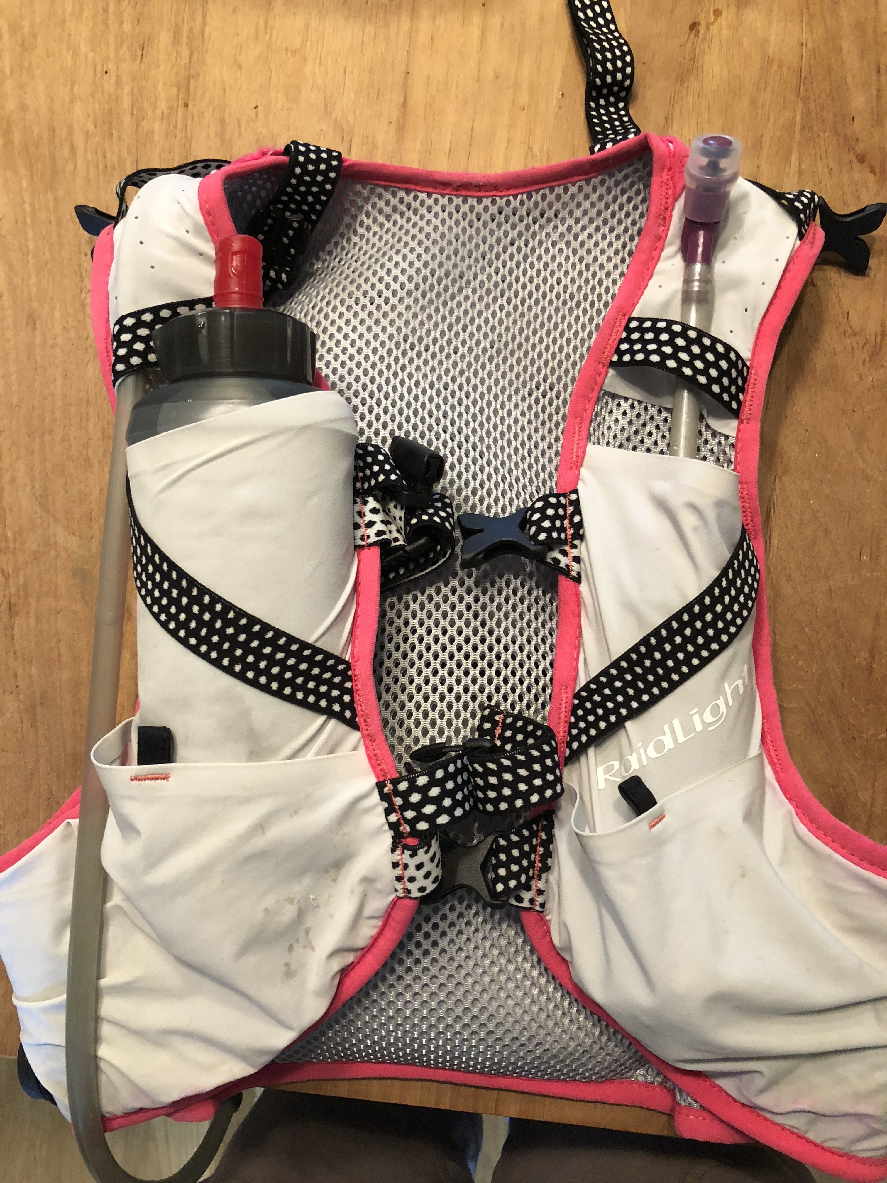 ultramarathon trail race vest