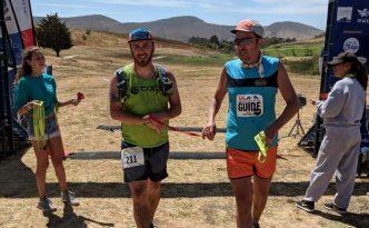 slo 50k ultramarathon with Kyle