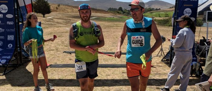 slo 50k ultramarathon with Kyle