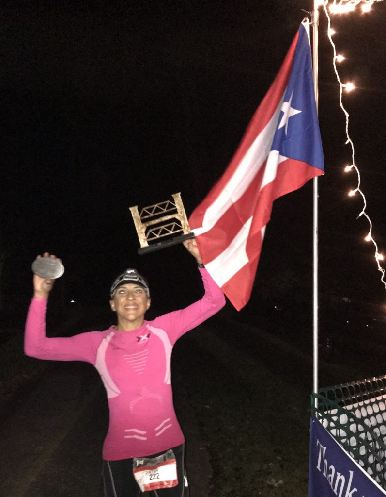 Patsy Ramirez Arroyo ultramarathon finish