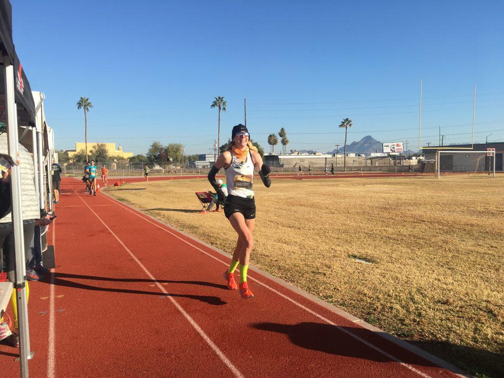 Camille Herron ultramarathon