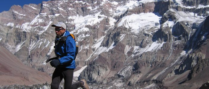Buzz Burrell in Aconcagua