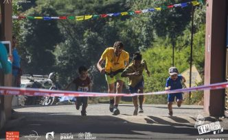 Jimi Oostrum Trail Running in Nepal
