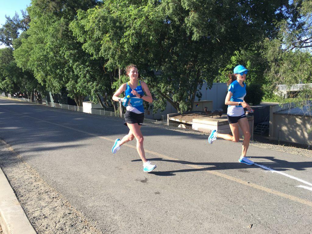 Sabrina Little 100k ultramarathon HOKA