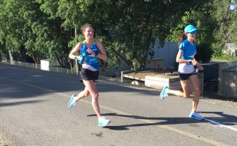 Sabrina Little 100k ultramarathon HOKA